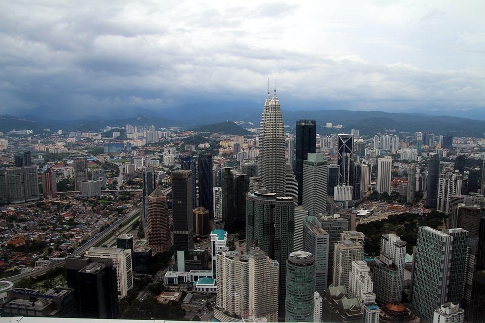Kong Kuala, Petrona Towers, Malaysia, Architecture