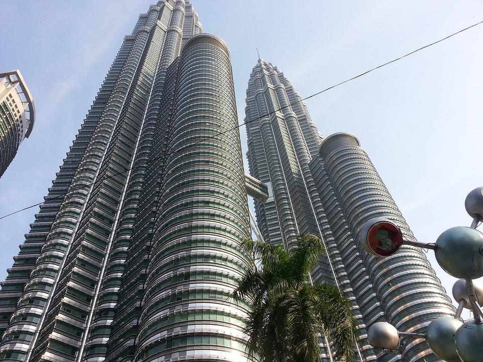Petronas, Twin Towers, Kong Kuala, Malaysia, Building