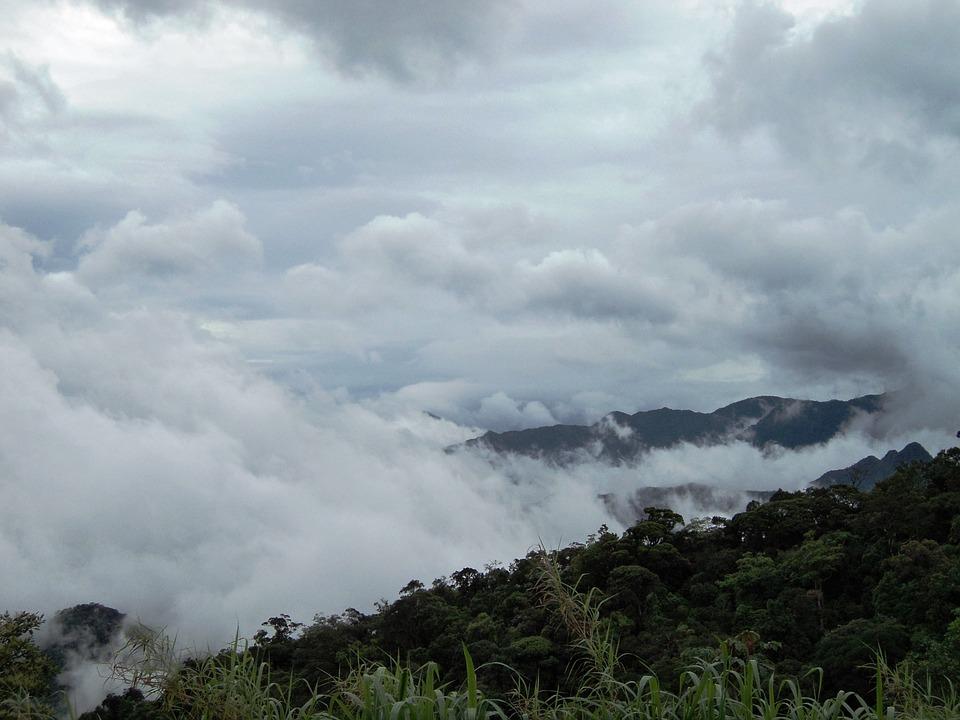 Serra, Mountains, Cloud, Petrópolis, Green