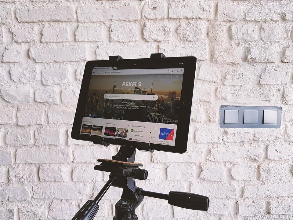 Technology, Tablet, Tripod, Pexels, Website, Design