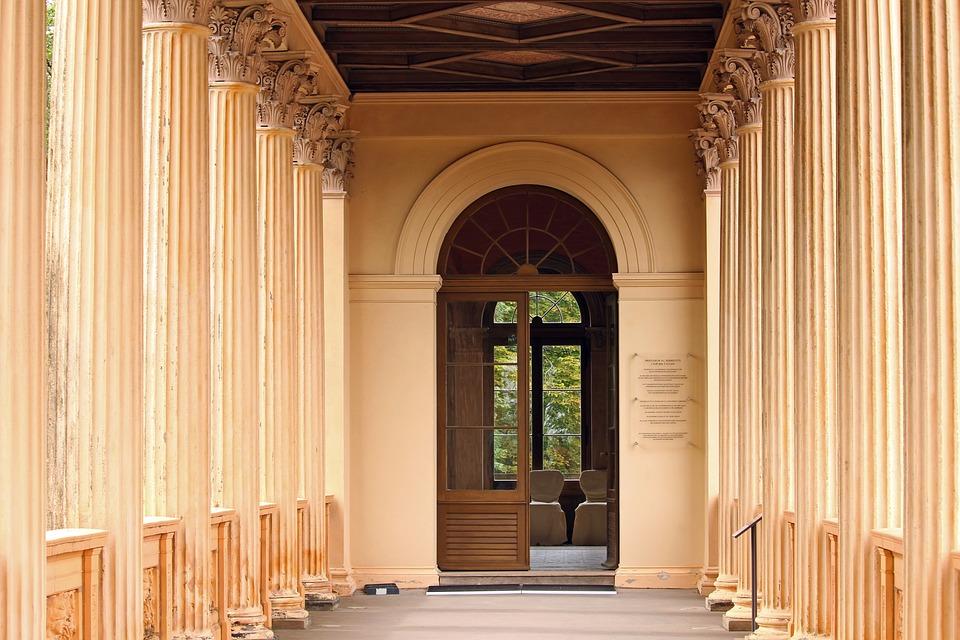 Belvedere Castle, Pfingstberg, Potsdam, Columnar, Input