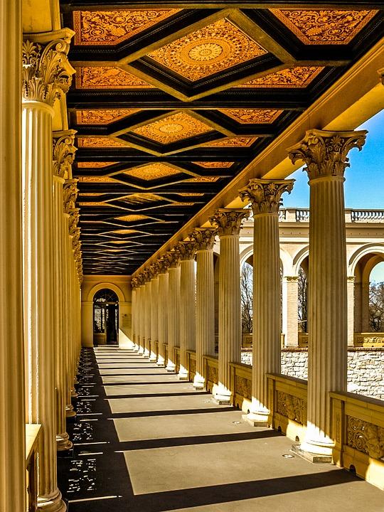 Potsdam, Belvedere, Pfingstberg, Architecture, Castle