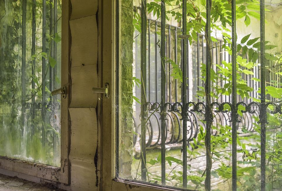 Lost Places, Window, Abandoned, Old, Pforphoto, Decay