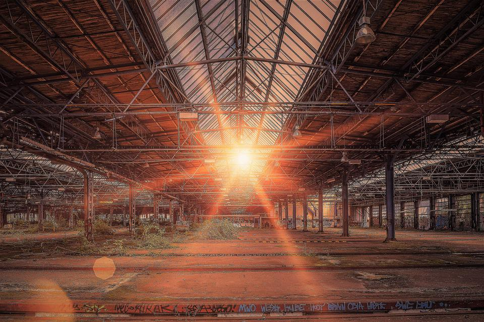 Lost Places, Hall, Pforphoto, Abandoned, Factory, Mood