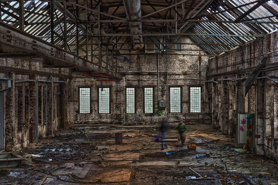 Lost Places, Factory, Pforphoto, Industry, Hall