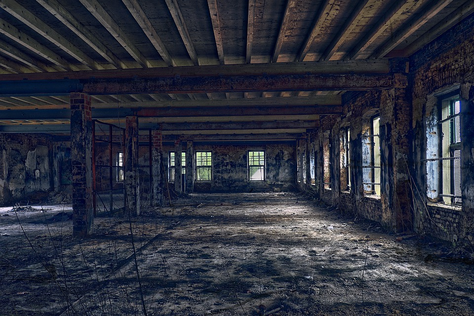 Lost Places, Hall, Factory, Industry, Pforphoto