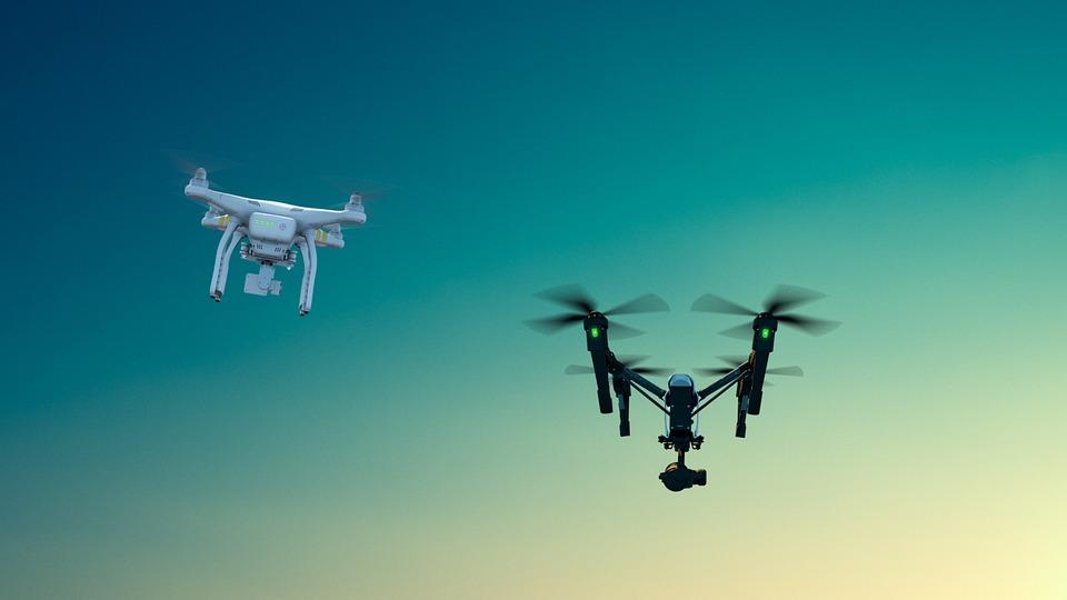 Drone, Aerial, Sky, Phantom, Inspire, Dji, Nature