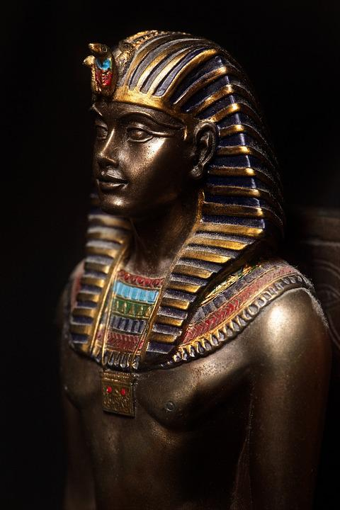 Sculpture, People, One, Religion, Statue, Pharaoh