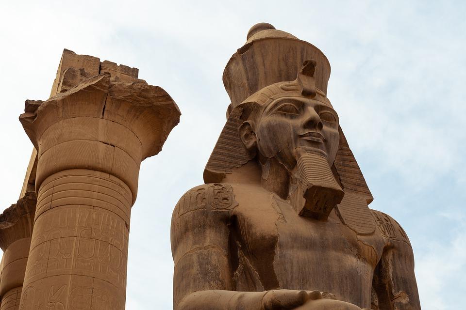 Pharaoh, Egypt, Statue, Sphinx, Luxor, History