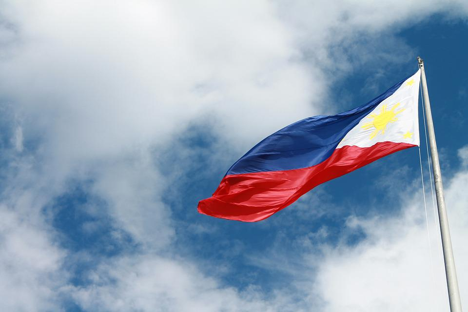 Philippines, Flag, Filipino, Nation, Asia, Flying