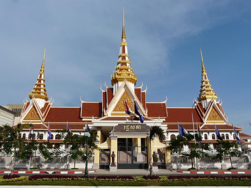 Phnom Penh, Government Palace, Cambodia, Building