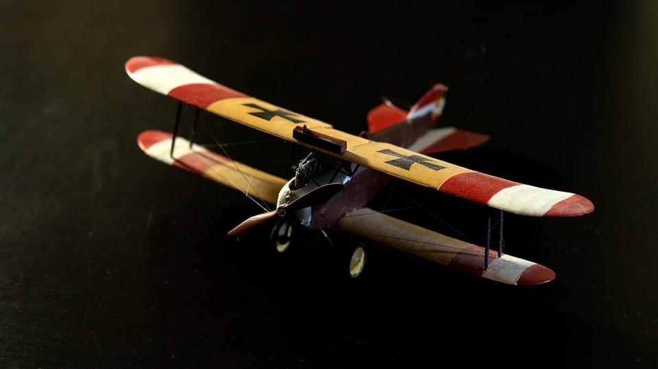 Phoenix D, I, Model, Aircraft, Double Decker, Air Force