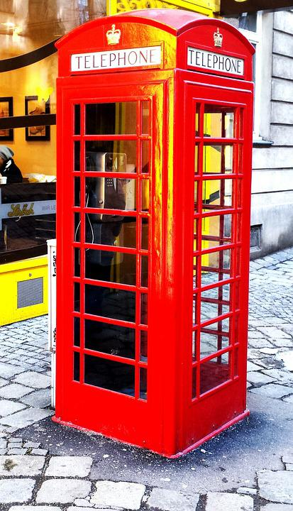 Phone Booth, Phone, Mobile Phone, Old, Dispensary