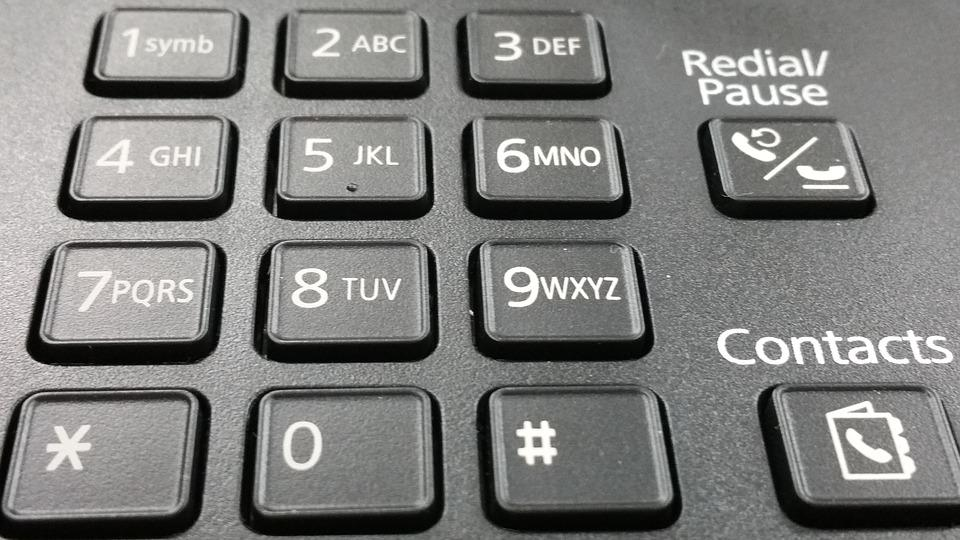 Informatica, Keyboard, Phone, Fax, Number, Numbers