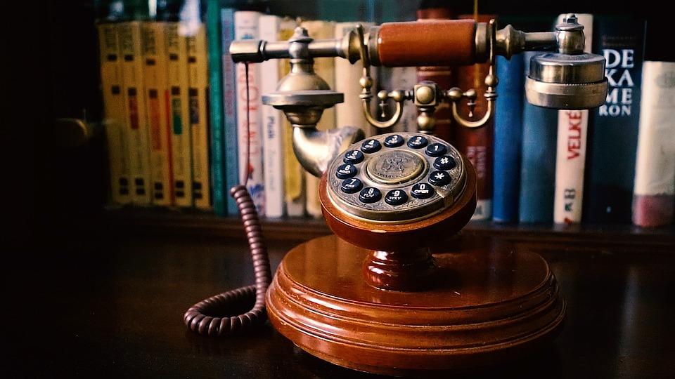 Phone, Old, Retro, Rotary