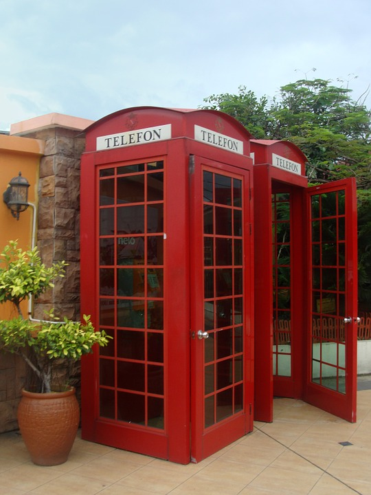 Phone, Phone Booth, English, Red Box