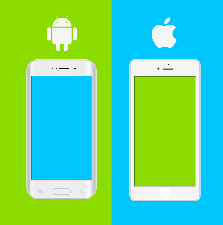 smartphones mockups apple ios phones android - Mockups For Android