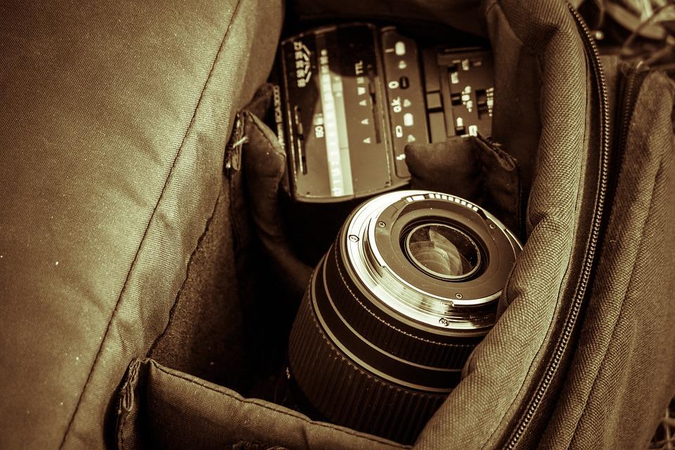Photographic Equipment, Lens, Photo Bag, Bag