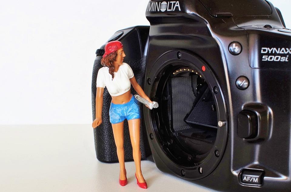 Camera, Konica, Minolta, Old Camera, Photo Camera