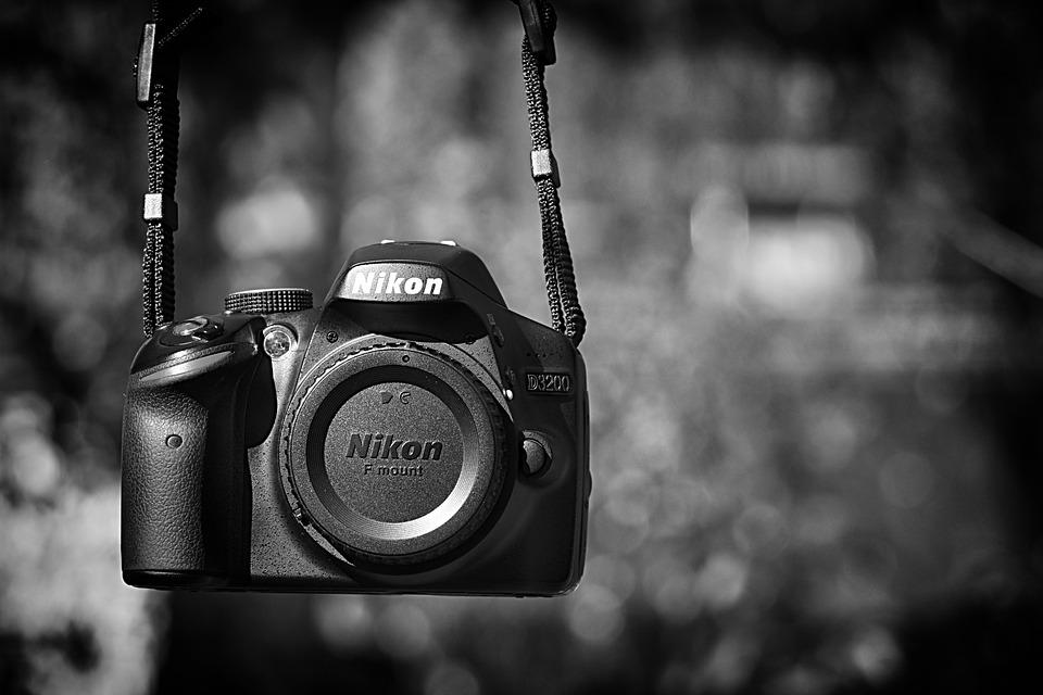 Slr Camera, Nikon D3200, Photograph, Photo Camera