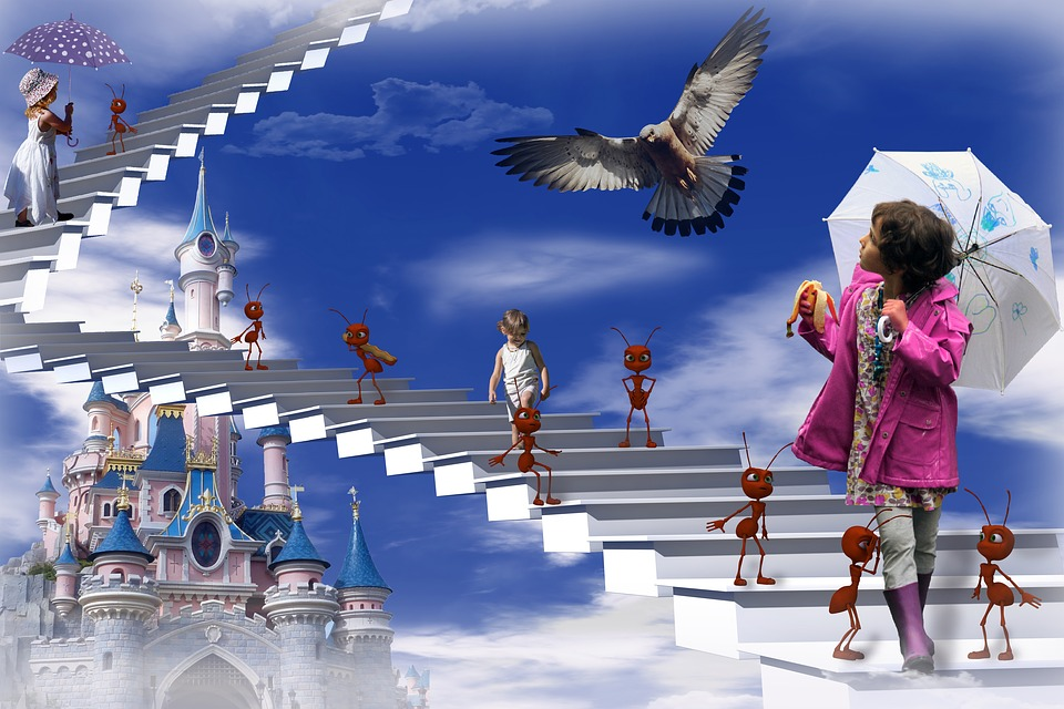 Disneyland, Photo Editing, Children