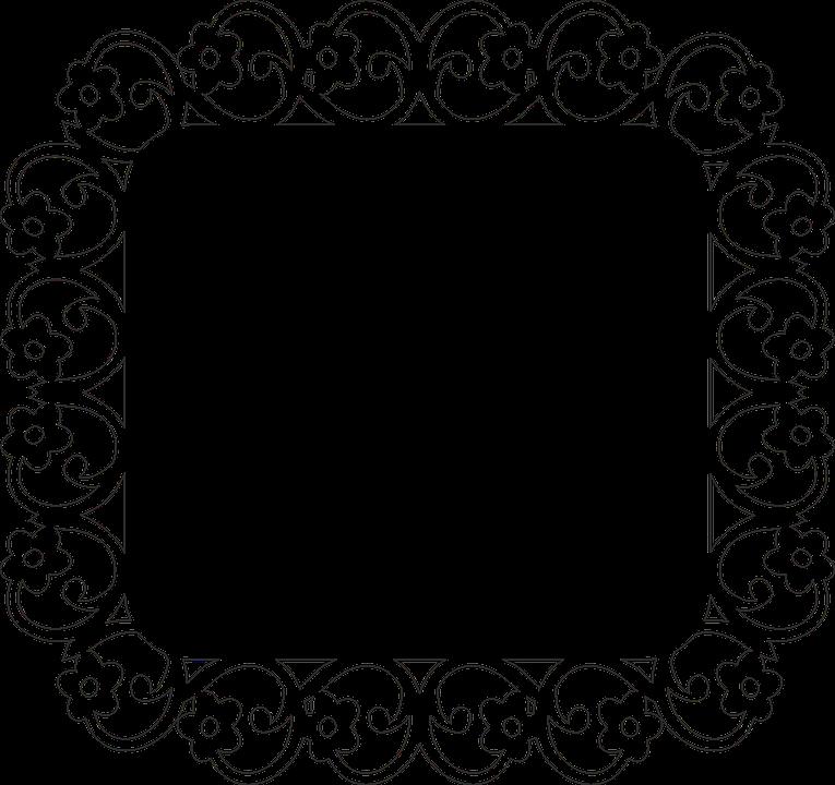 Frame, Flower, Photo