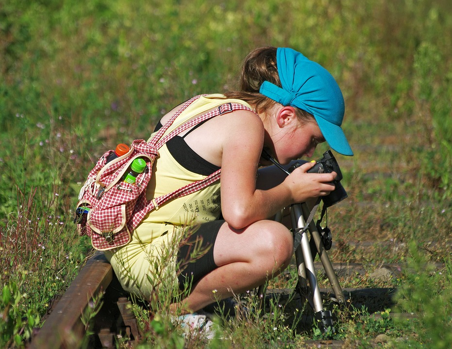 Summer, Photo, Girl, Nature, Holiday, Hobby
