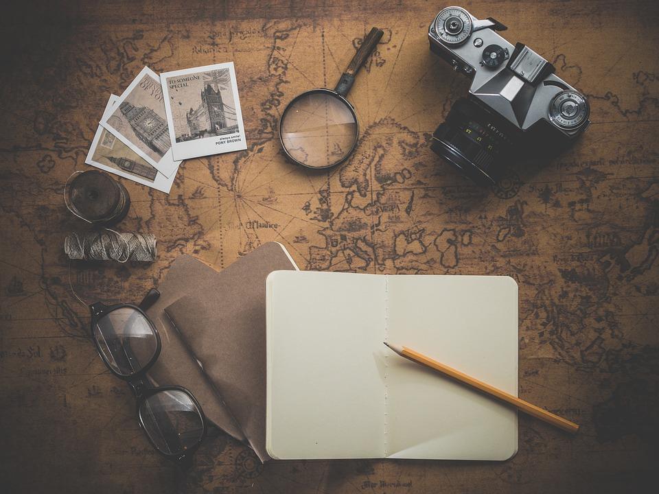 Journey, Adventure, Photo, Map, Old, Retro, Antique