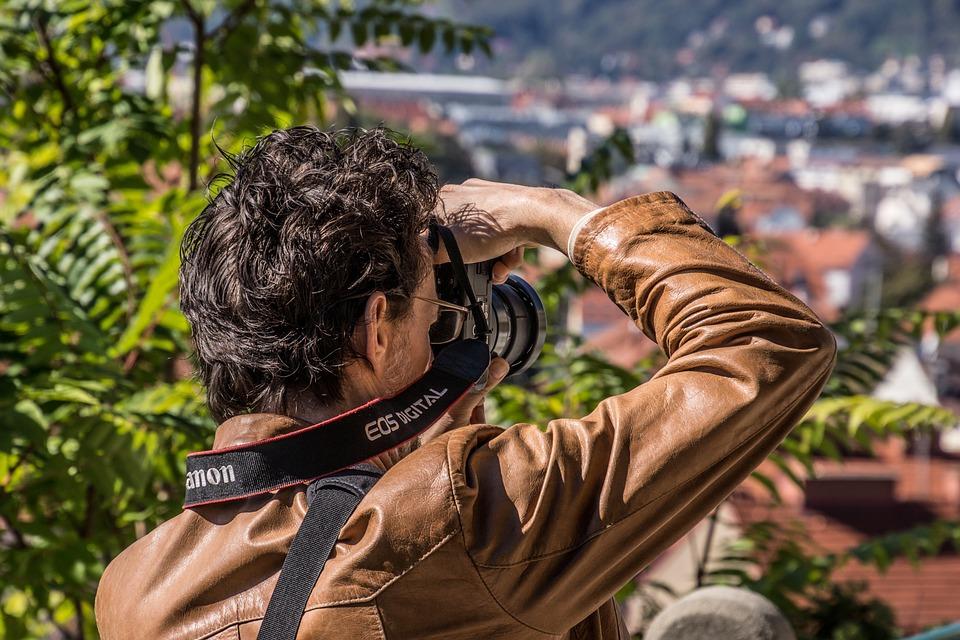 Photographer, Photo, Canon, Digital, Technology