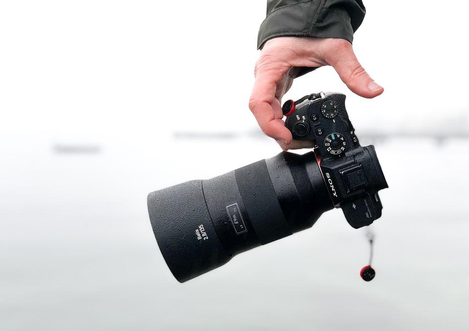 Camera, Photo-camera, Sony, Mirrorless, Digital