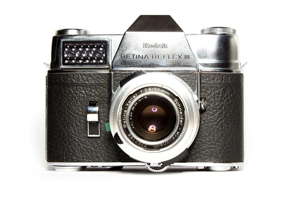 Free photo Photograph Camera Old Camera Analog Kodak Lens - Max Pixel
