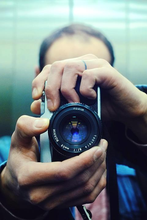 Photographer, Camera, Photography, Lens, Photograph
