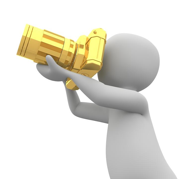 Photographer, Camera, Recordings, Photograph, Lens