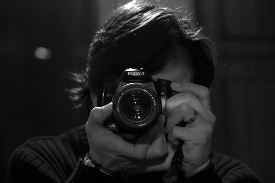 Photographer, Canon, Self-portrait, Digital Camera
