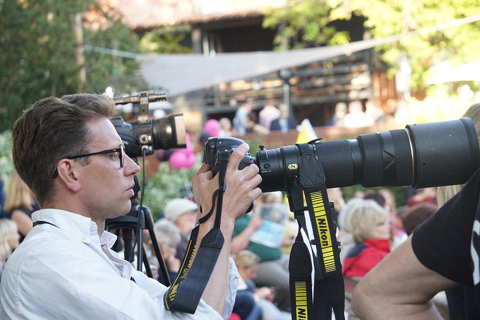 Journalist, Photography, Camera, Photographer, Aperture