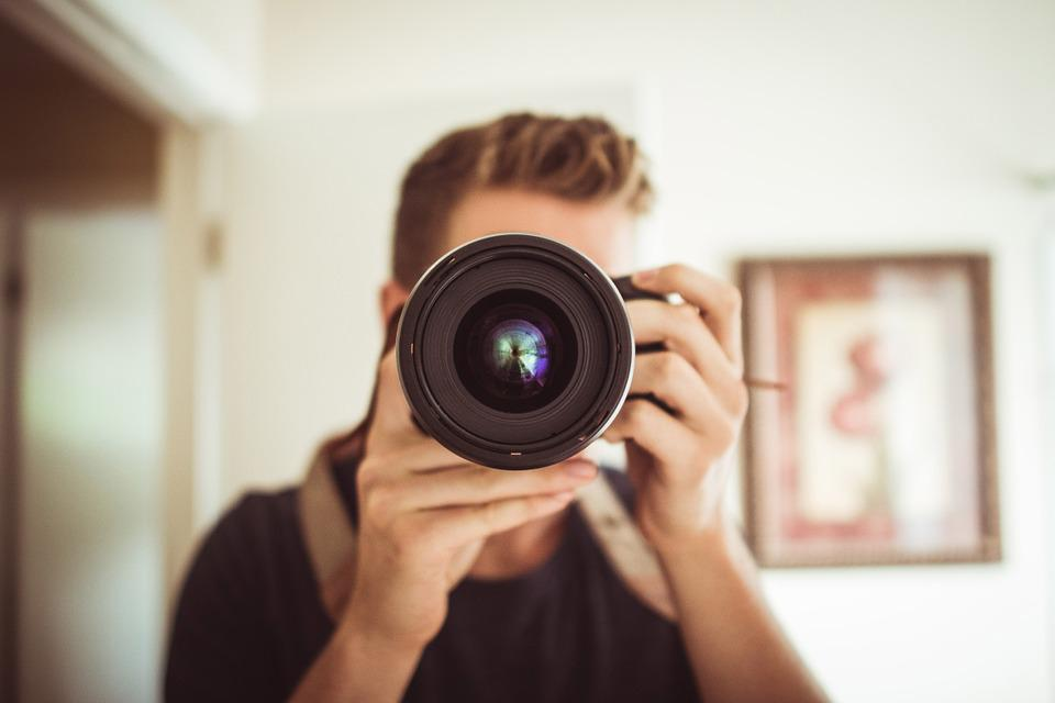 Camera, Lens, Photographer, Photography, People