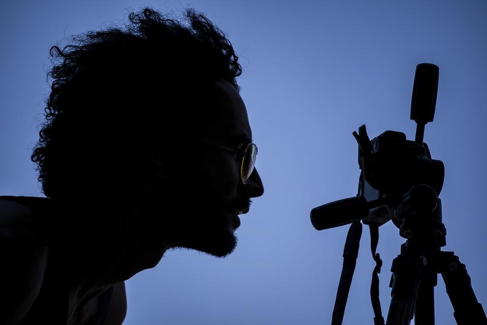 Photographer, Silhouette, Kavir National Park