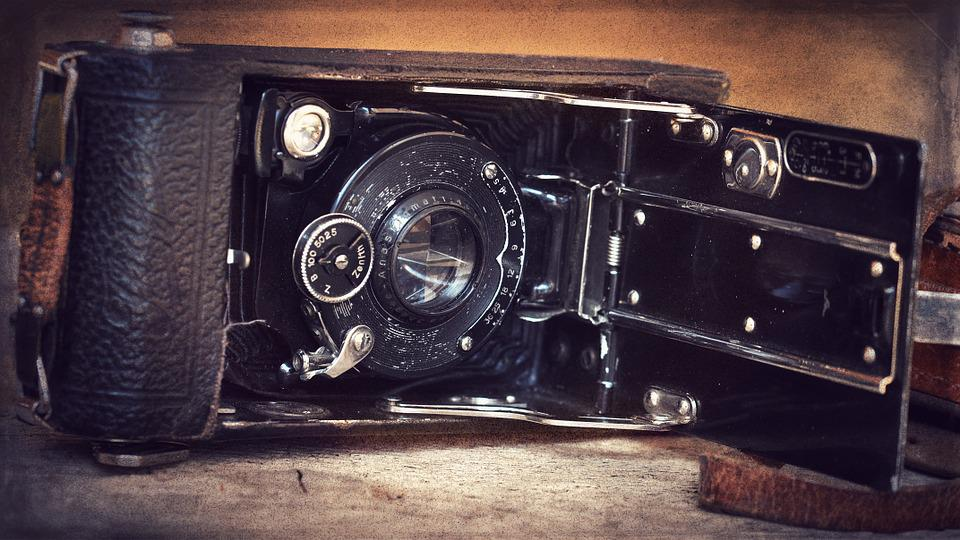 Camera, Photography, Old, Antique, Inner Workings