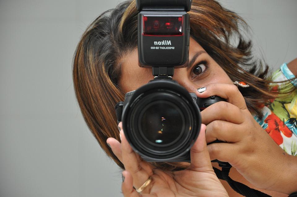 Photography, Photographer, Camera, Woman, Shooting