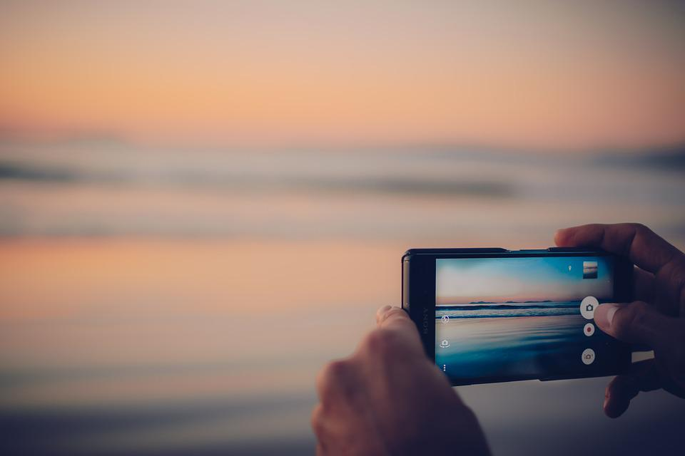 Digital Marketing, Smartphone, Focus, Sony, Photography