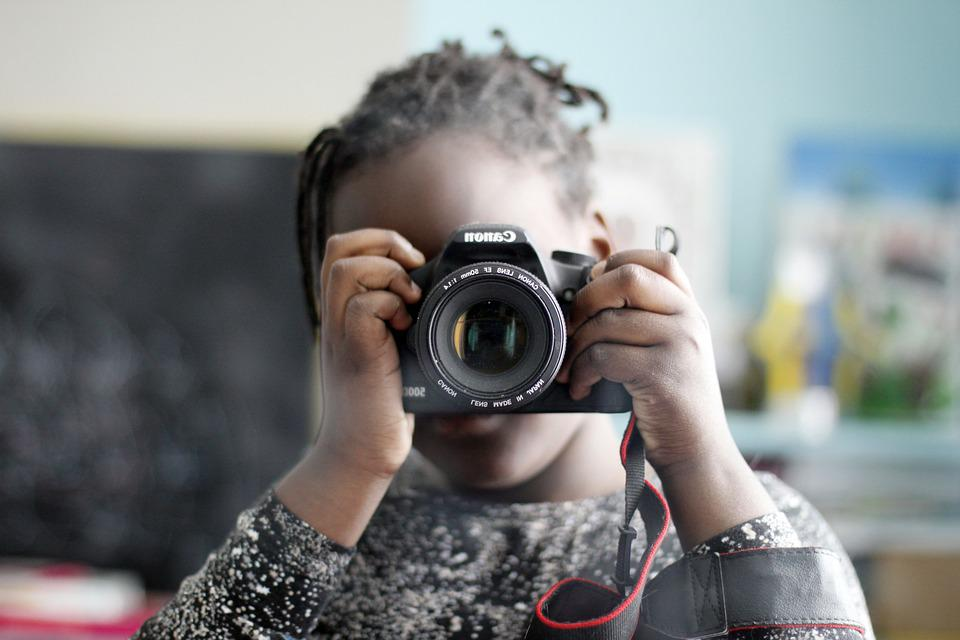 Child, Photographer, Self-portrait, Photography