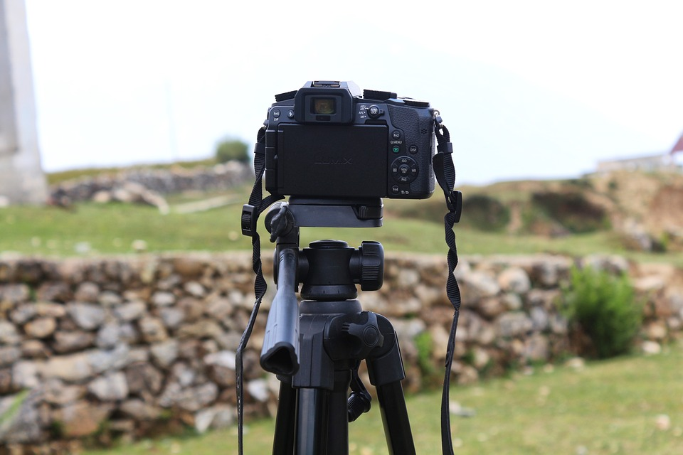 Camera, Dslr, Tripod, Photography, Professional