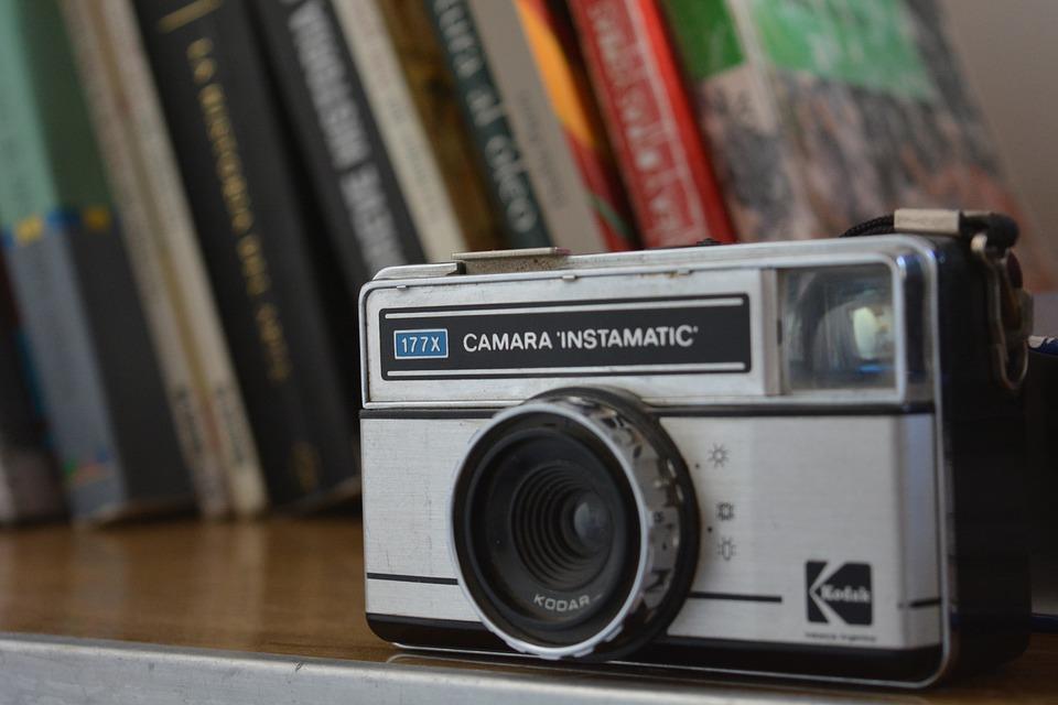 Camera, Photos, Books, Vintage, Analogical, Retro