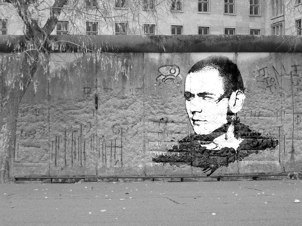 Berlin Wall, Wall, Art, Graffiti, Photoshop, Spray