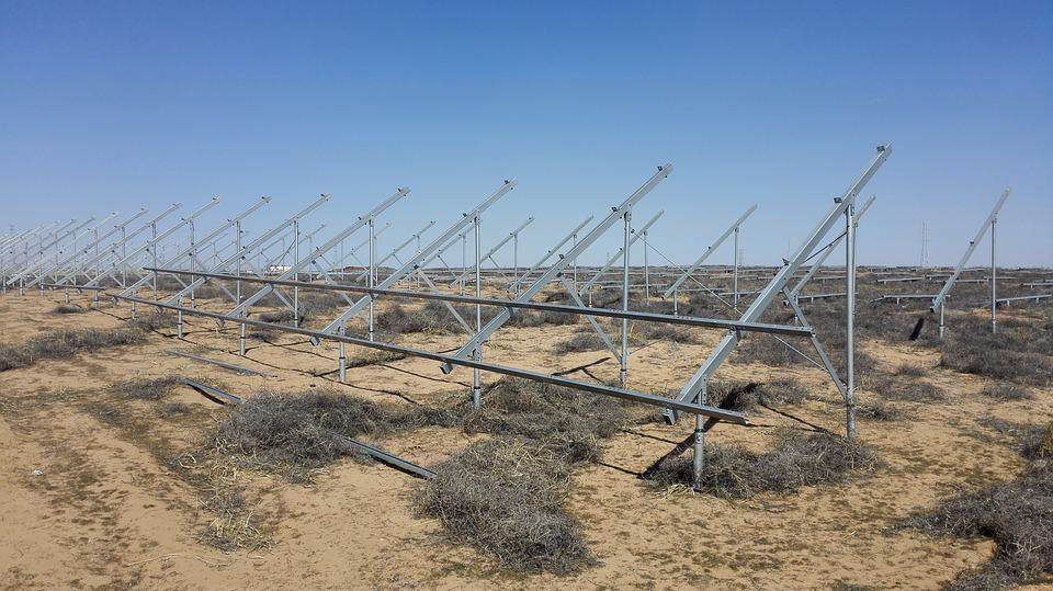 Photovoltaic, Support, Ground