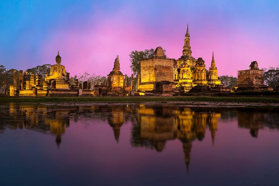 Phra Nakhon Si Ayutthaya, Ancient, Architecture, Art