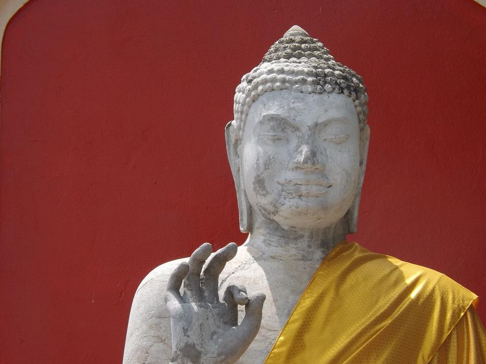 Buddha Dvaravati, Phra Pathom Chedi, Nakhon Sawan