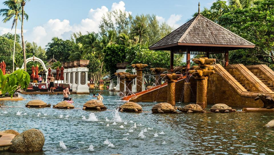 Phuket, Thailand, Marriott Beach Resort, Pool