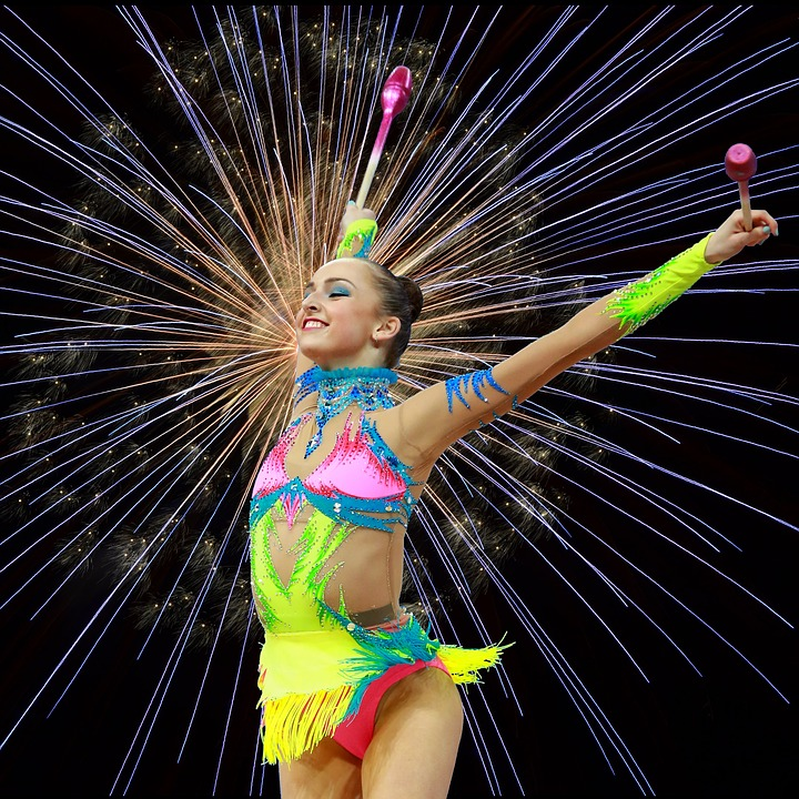 Gymnastics, Rhythmic Gymnastics, Physical Activity