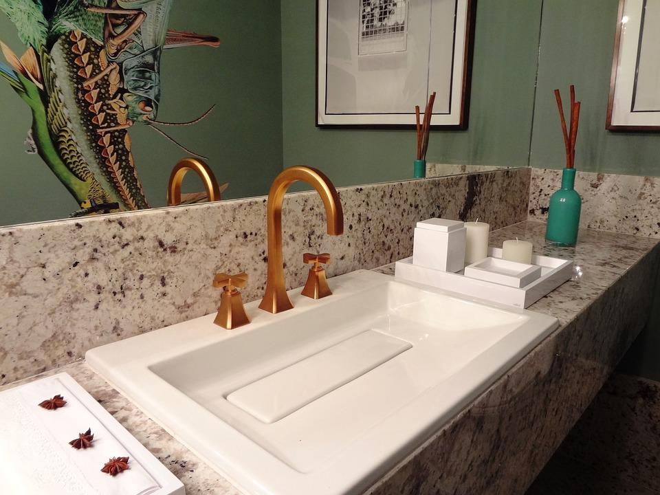Bathroom, Washbasin, Pia